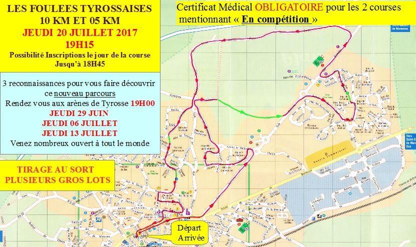 Club Course à pied – TYROSSE